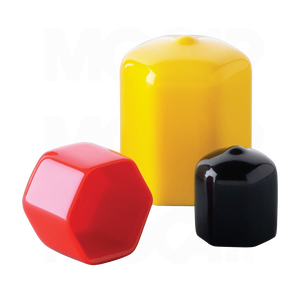 Vinyl Plastic Hex Shape Caps For Product Protection And