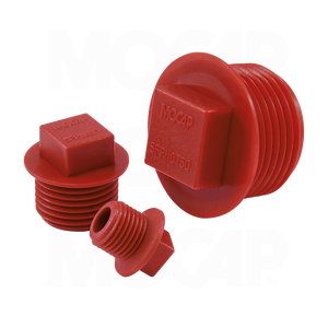 Square Head Flanged Plugs for NPT Threads