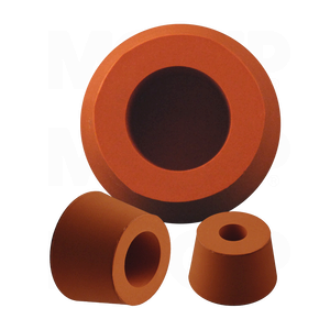 Silicone Rubber Hollow Tapered Plugs Mocap Silicone
