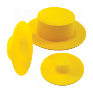 Thick Extra Wide Flange Tapered Plug Caps